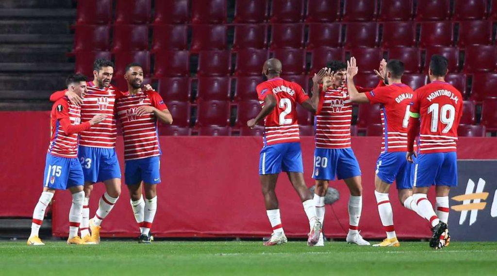 Granada venció al Nápoli en la Europa League