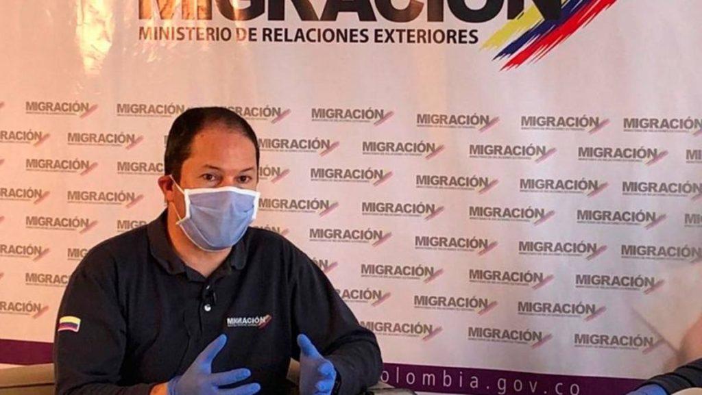 Juan Francisco Espinosa anunció cuándo arranca regularización de venezolanos en Colombia