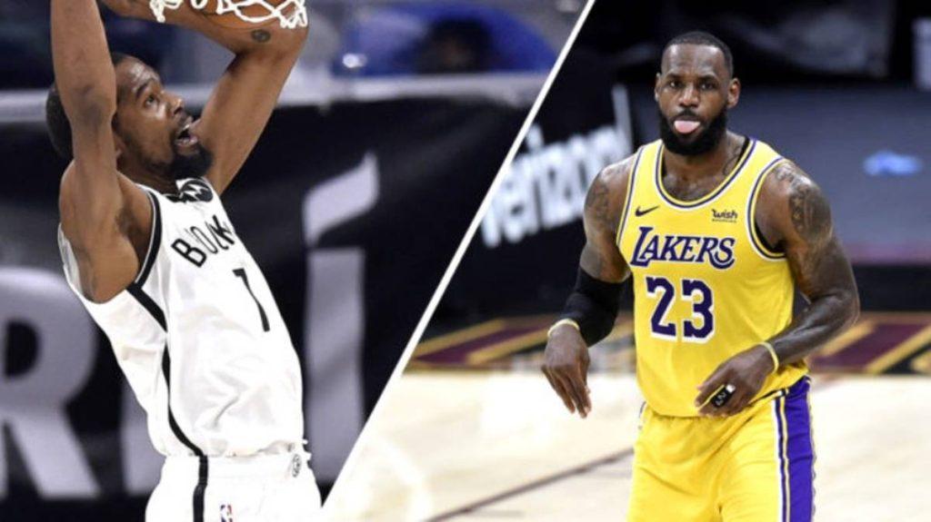 Kevin Durant y LeBron James serán los capitanes, del Este y el Oeste respectivamente, en el Juego de Estrellas de la NBA