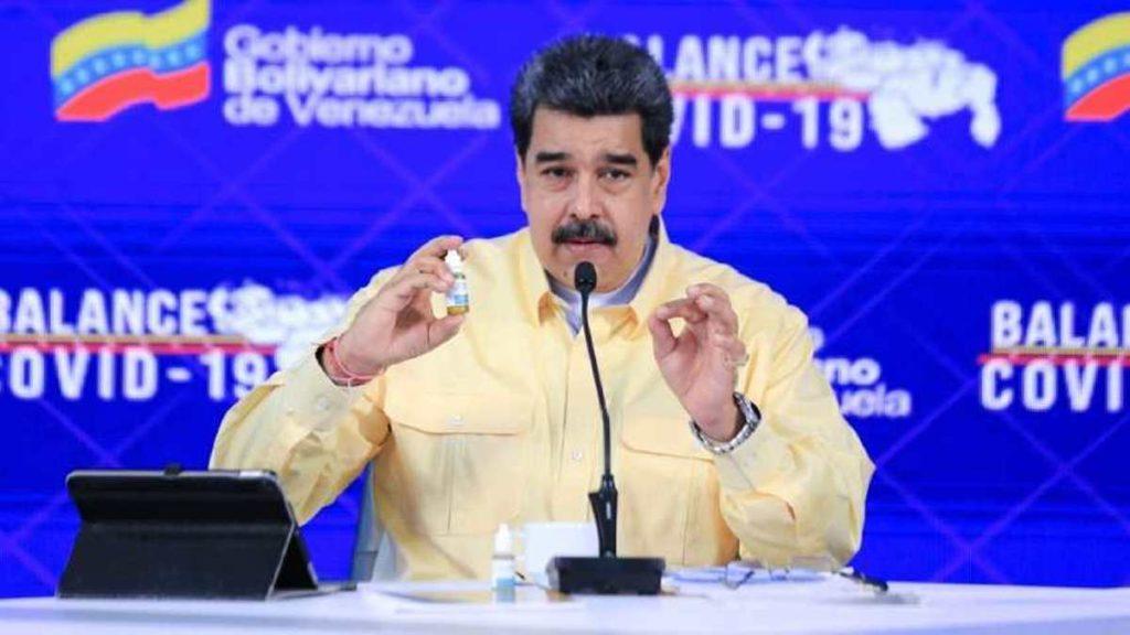 Maduro reveló cuándo arranca la vacunación masiva en el país