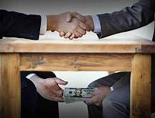 corrupción en varios actos