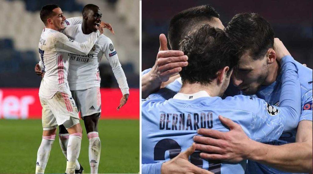 Mendy le dio la victoria al Madrid y Bernardo Silva al City
