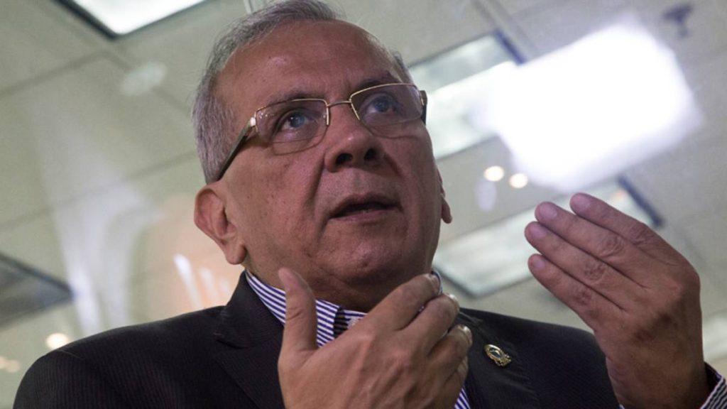 Rodrigo Cabezas, exministro de Finanzas.