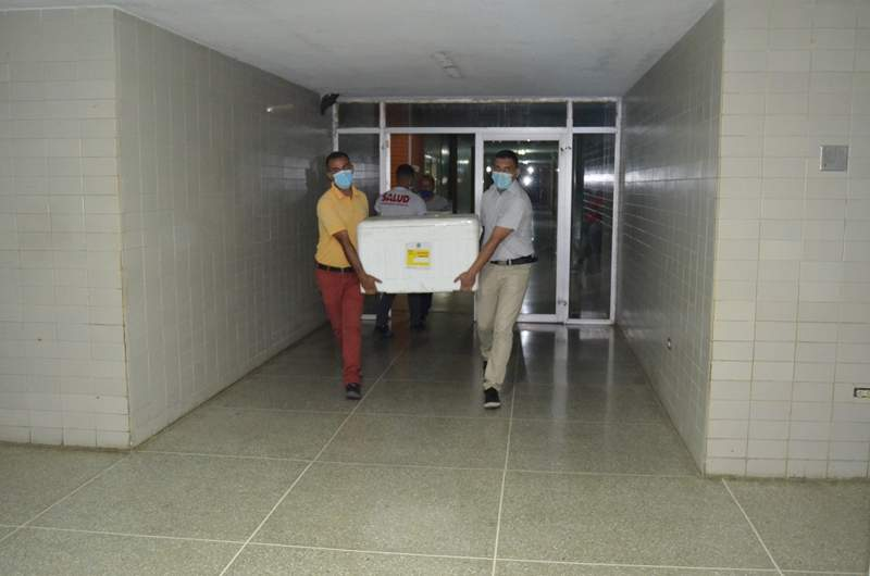 vacunas sputnik V llegan a guárico
