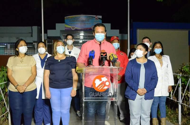 gobernador josé vásquez vacunas llegan a guárico