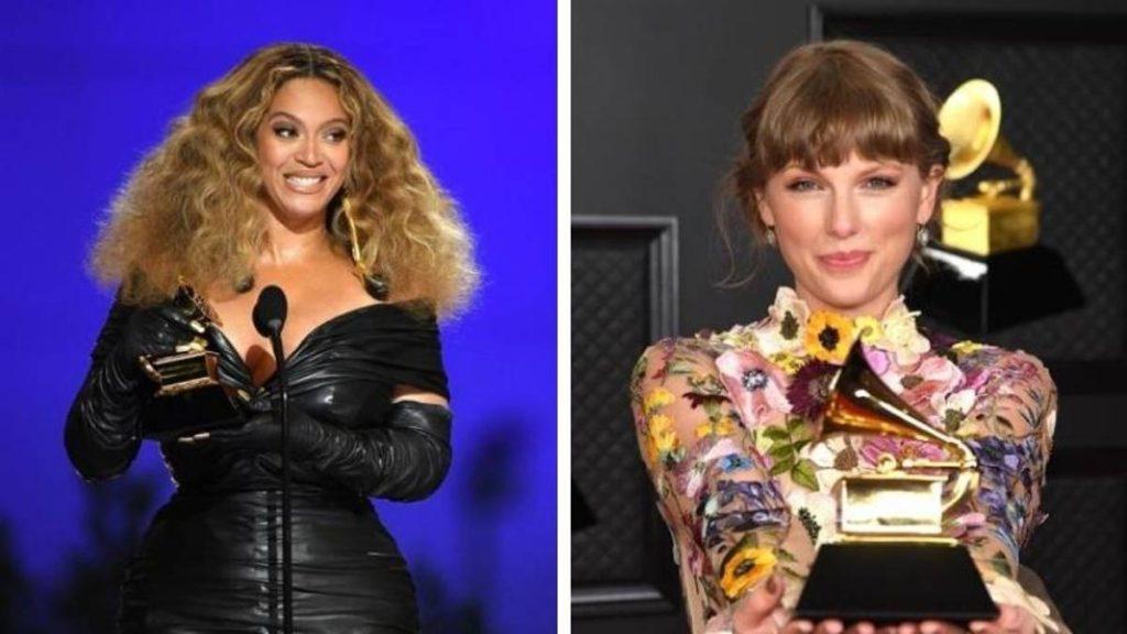 Taylor Swift y Beyoncé hicieron historia en los Grammy