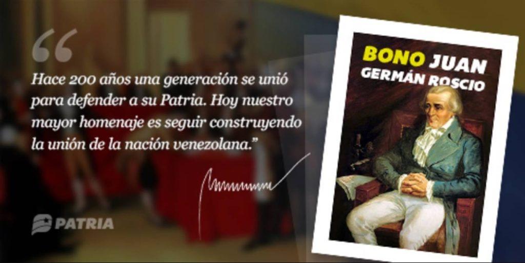 Bono Juan Germán Roscio