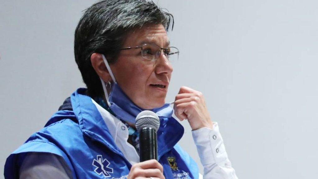 Alcaldesa de Bogotá vincula a venezolanos con aumento de inseguridad