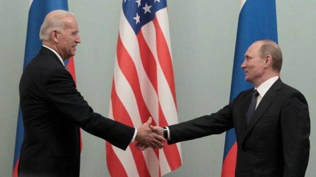 Biden a Putin