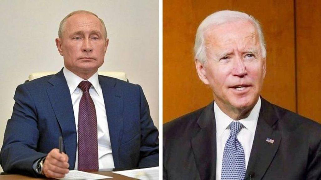 Putin a Biden