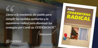 Bono Cuarentena Radical