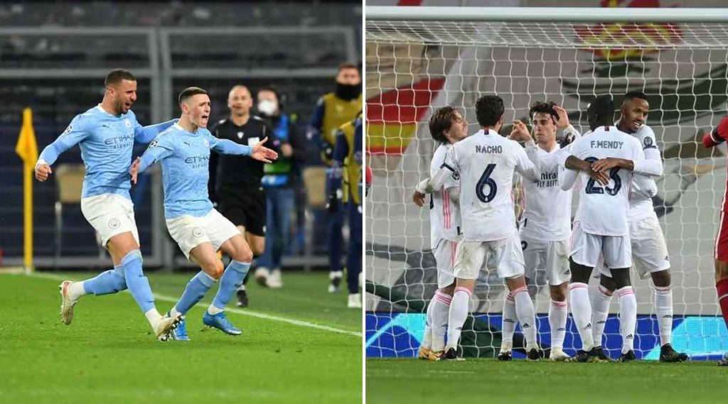 Real Madrid y Manchester City