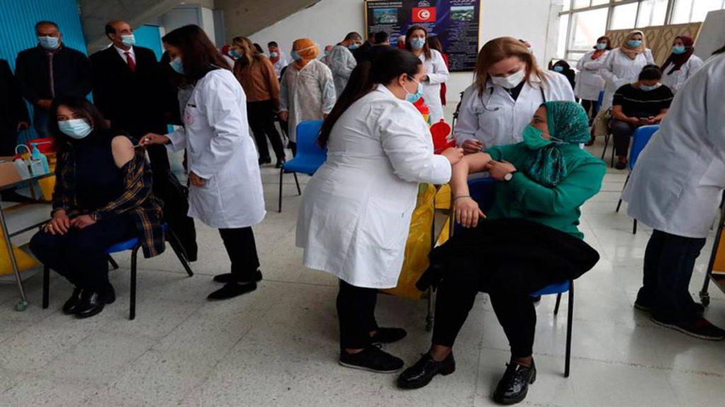 Nueva cepa de coronavirus en Túnez