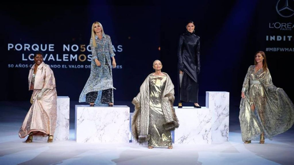 Venezolana Yelimar Moreno desfiló en la Mercedes-Benz Fashion Week Madrid