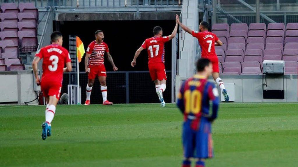 Barcelona cayó ante Granada