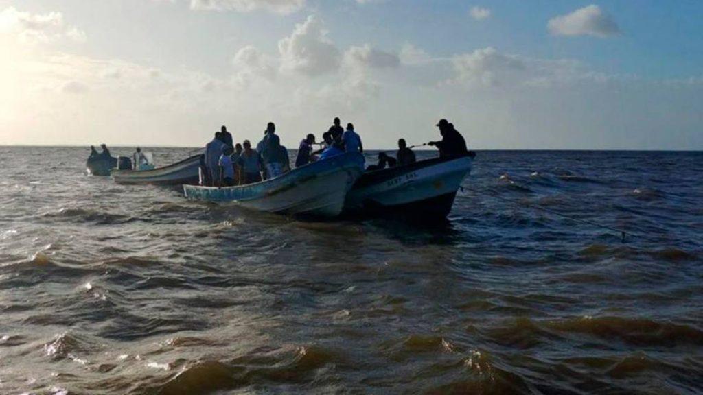 Tres migrantes venezolanos fallecieron en un naufragio