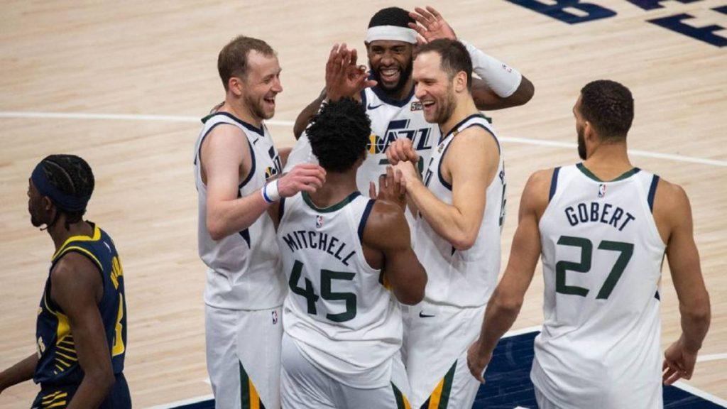Jazz y Nets avanzan a los playoffs de la NBA