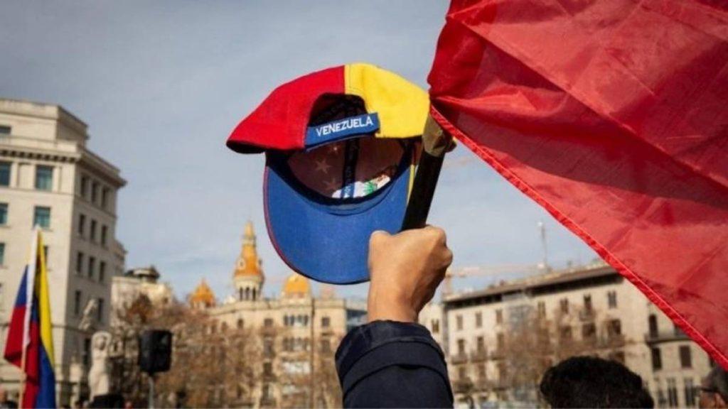 Venezolanos en España