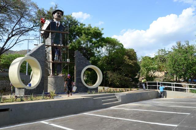 Enorme José Gregorio Hernández se levanta en Guárico