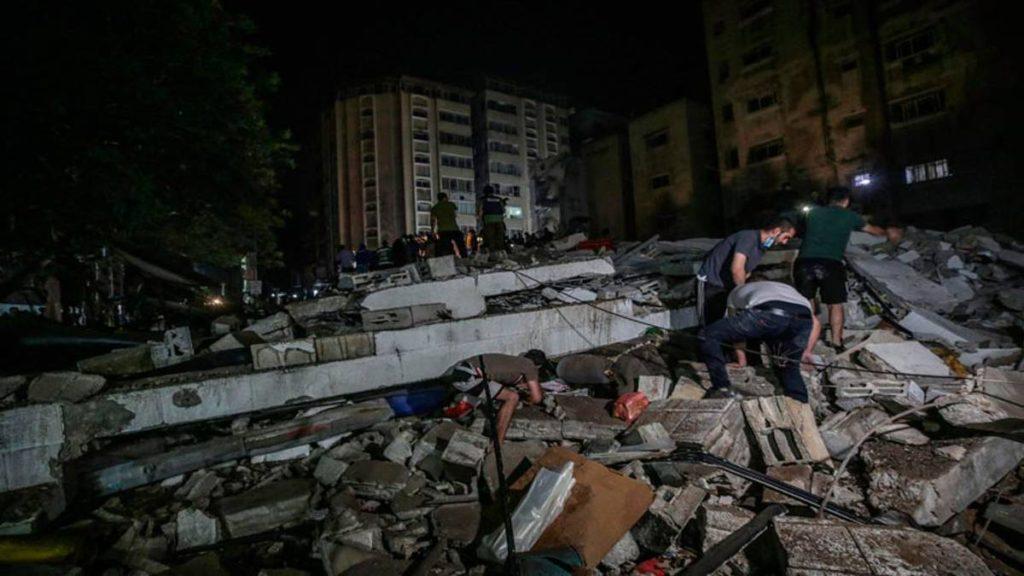 Suben a 174 los muertos en Gaza