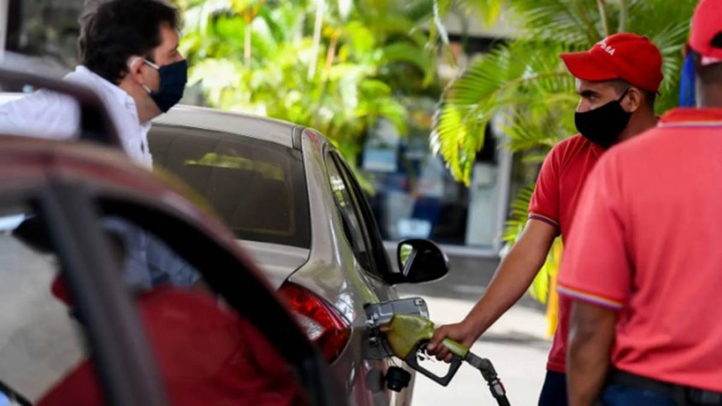 Suministro de gasolina