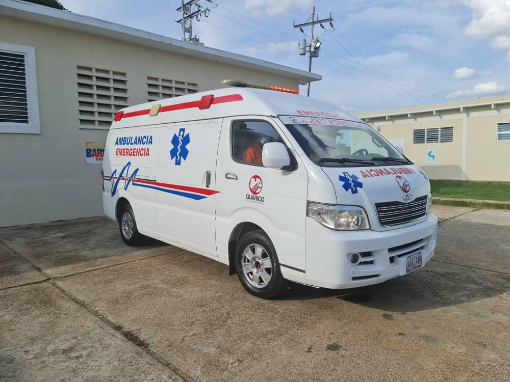 camaguán ambulancia
